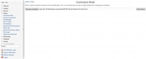 webmin-commandshell